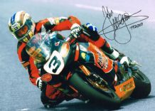 John McGuinness Autograph Signed Photo